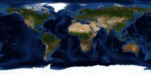 Nasa-satellite-earth-map